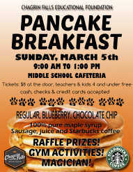 pancake breakfast 2017 flyer